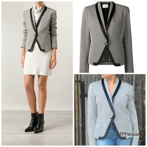 NEW! $1450 JASON WU woven jacquard blazer (8)